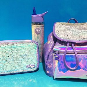 1c23a83ecc9 Keep your drinks cooler for longer with Smiggle s brand new Dreamy shimmery  bottles. Available in sparkly pink and shimmery purple!