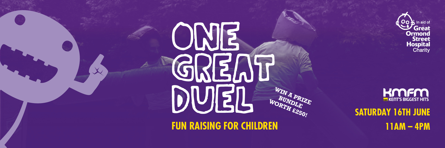 You're invited to our One Great Duel event!