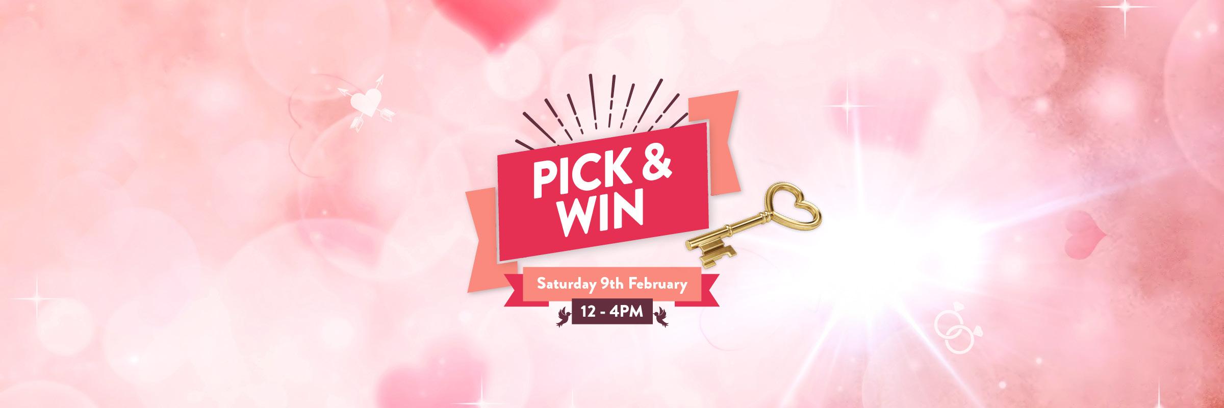 Valentine's Day Pick and WIN
