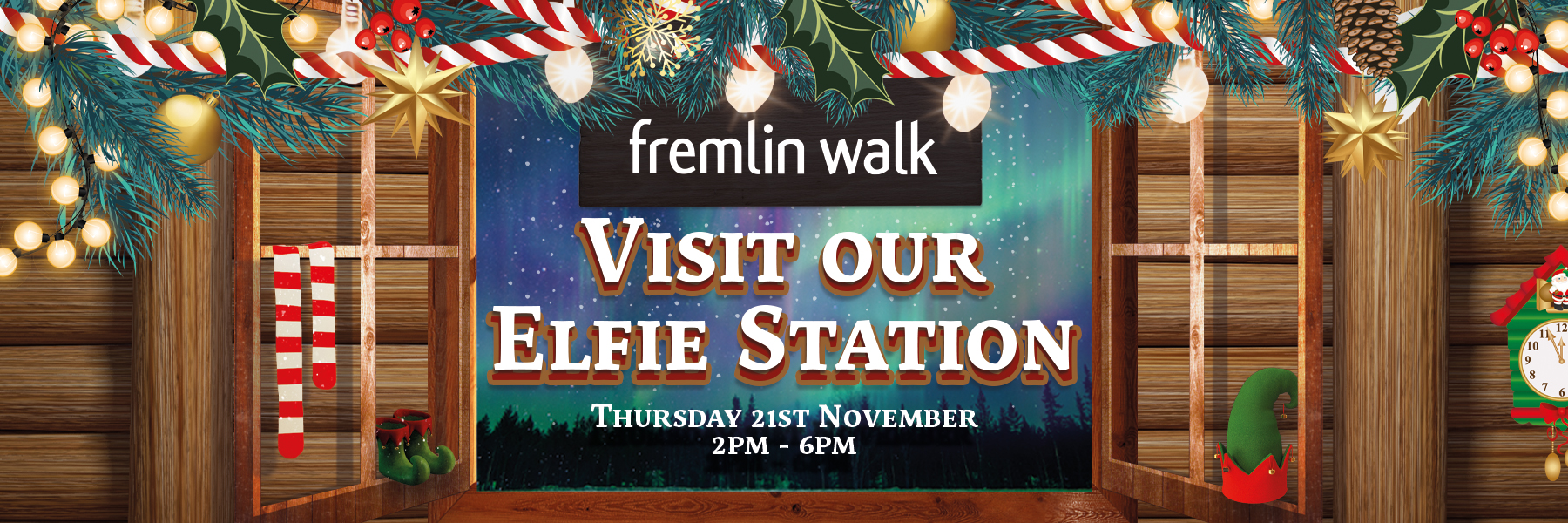 Christmas Launch Elfie Station