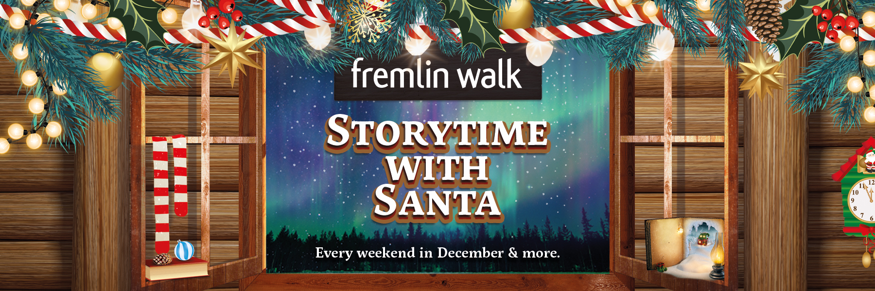Storytime with Santa Sessions