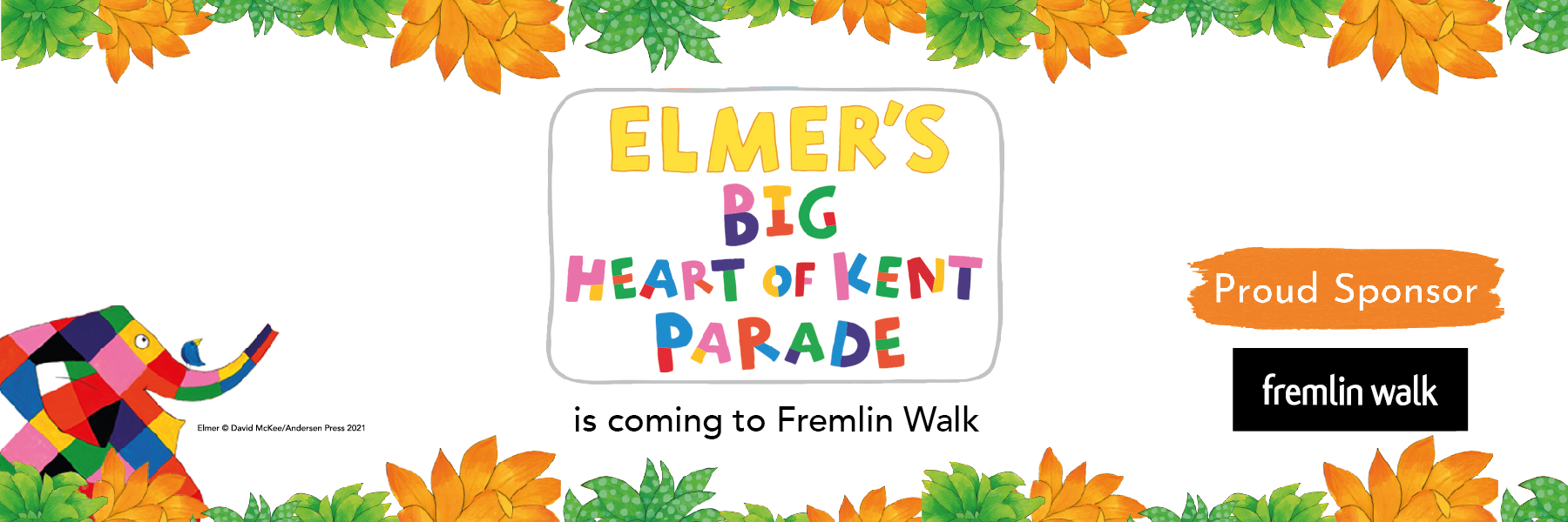 Elmer's Big Heart of Kent Parade is Coming to Maidstone!